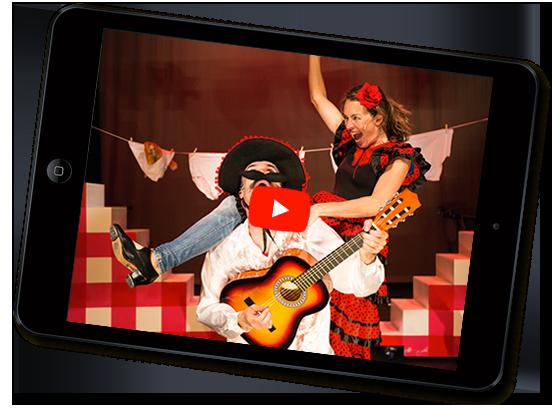 VET kindercabaret video's